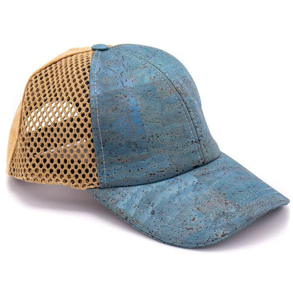 Cork Two Color Baseball Hat