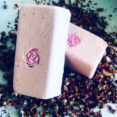 Cheeky Rose Vegan Milk Bath Bomb Brick - Hotsy Totsy Haus