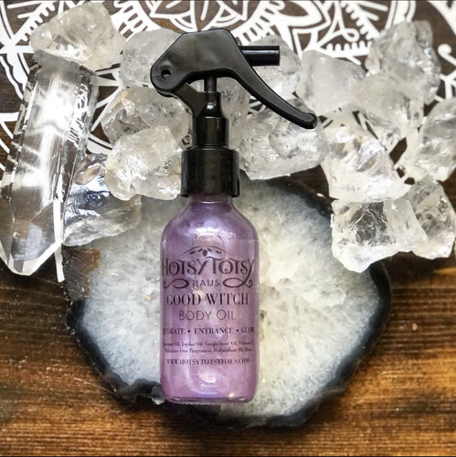 Good Witch Shimmering Body Oil - Hotsy Totsy Haus
