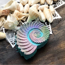 Load image into Gallery viewer, Tranquil Waters Nautical Shell Bath Bomb - Hotsy Totsy Haus