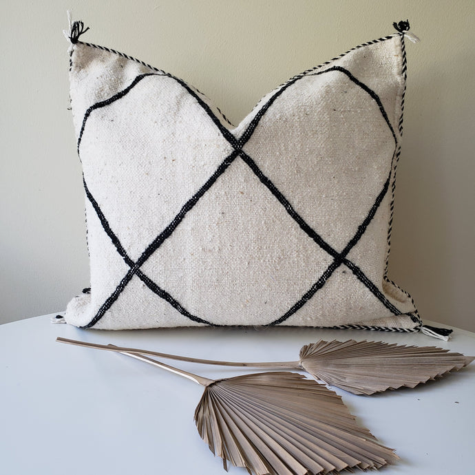Pre-order Moroccan Kilim Pillow arrives first week of August