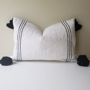Handcrafted Pompom Pillow
