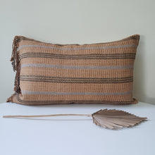Load image into Gallery viewer, Sweet Orange Tribal Pillow