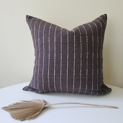 Charcoal Brown Changmai Pillow