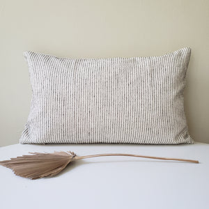 Eve Blue Striped Pillow