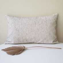 Load image into Gallery viewer, Eve Blue Striped Pillow