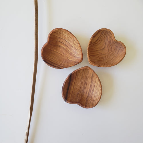Olivewood Mini Heart Bowl