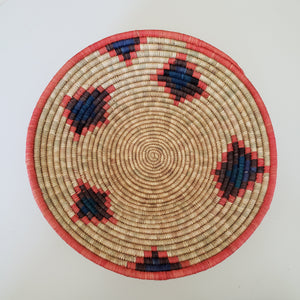 African Raffia Fruit & Grain Basket
