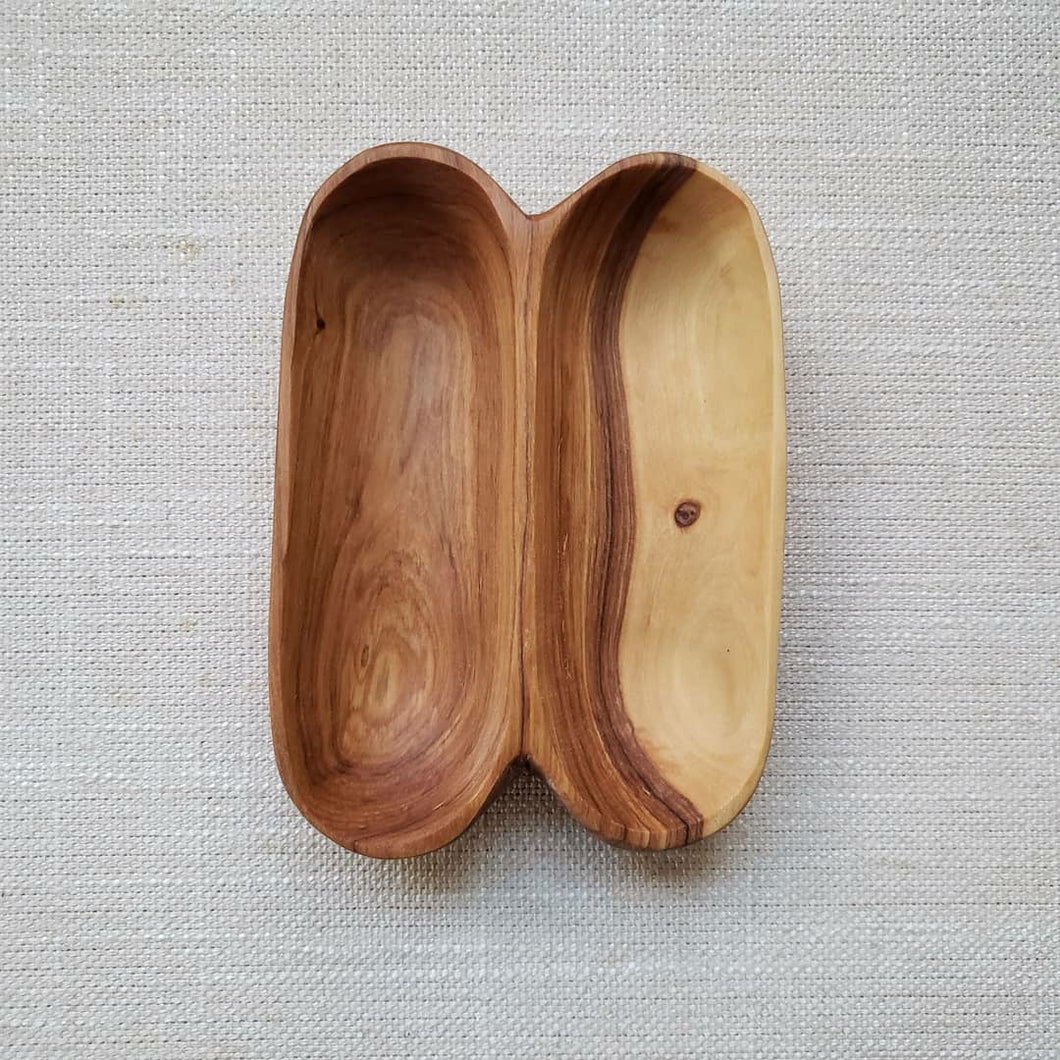 Olive Wood Spice Bowl