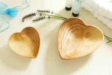 Load image into Gallery viewer, Olivewood heart bowl