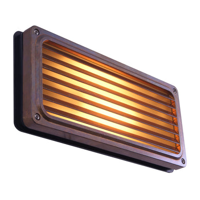 Agher Recessed Grill Wall Light IP54 - Wall Lights from RETROLIGHT. Made by Mullan Lighting.