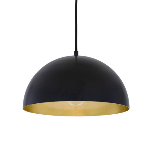 Avon Brass Dome Pendant 30cm - Pendant Lights from RETROLIGHT. Made by Mullan Lighting.