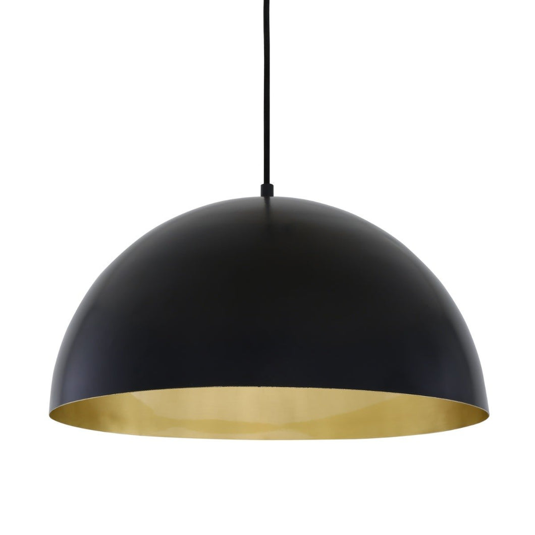 Avon Brass Dome Pendant 40cm - Pendant Lights from RETROLIGHT. Made by Mullan Lighting.