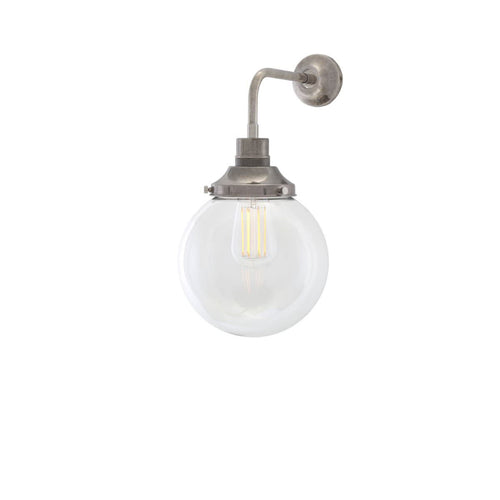 Bamako Globe Wall Light 20cm - Wall Lights from RETROLIGHT. Made by Mullan Lighting.