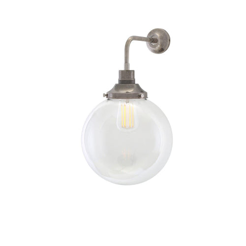 Bamako Globe Wall Light 25cm - Wall Lights from RETROLIGHT. Made by Mullan Lighting.