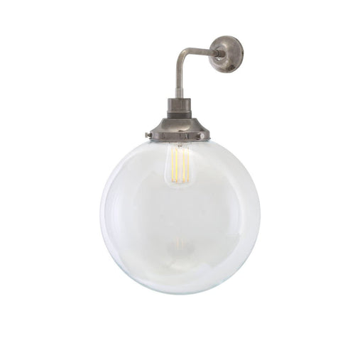 Bamako Globe Wall Light 30cm - Wall Lights from RETROLIGHT. Made by Mullan Lighting.