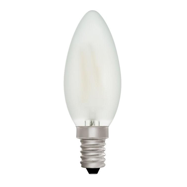 Candle C35 Frosted 4W E14 2700K - LED Lamp from RETROLIGHT. Made by Zico Lighting.