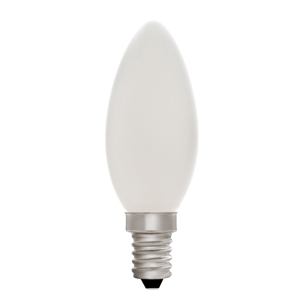 Candle C35 Opal 4W E14 2700K - LED Lamp from RETROLIGHT. Made by Zico Lighting.
