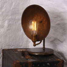 Load image into Gallery viewer, Cullen Industrial Dish Table Lamp - Table Lamps from RETROLIGHT. Made by Mullan Lighting.