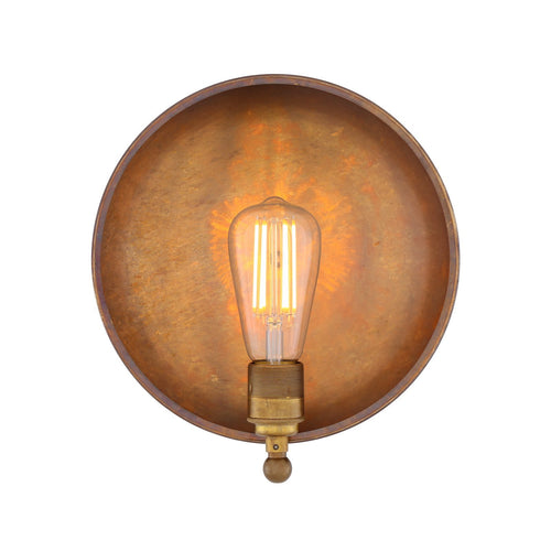 Cullen Industrial Dish Wall Light - Wall Lights from RETROLIGHT. Made by Mullan Lighting.
