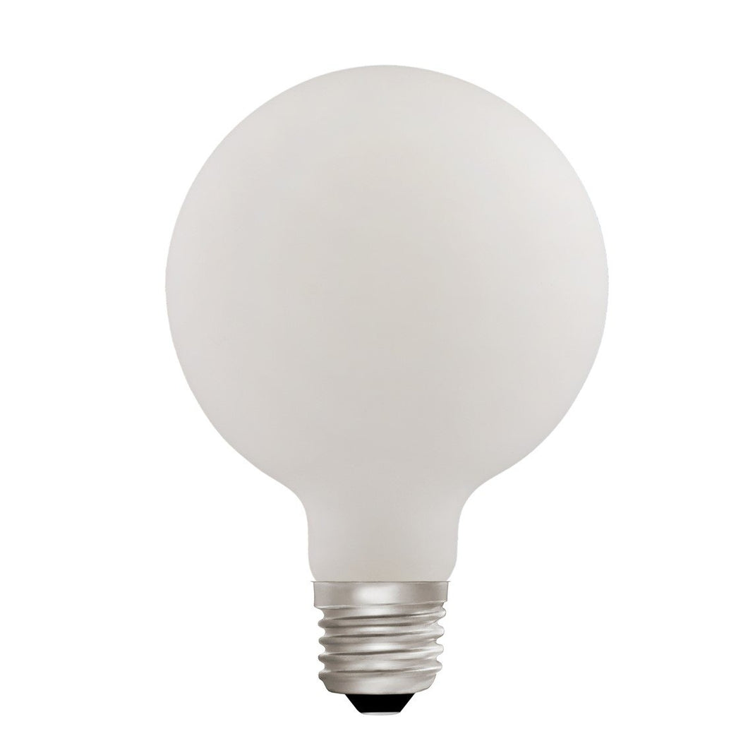 Globe G95 Opal 6W E27 2700K - LED Lamp from RETROLIGHT. Made by Zico Lighting.