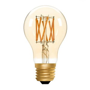 GLS A60 Amber 6W E27 2200K - LED Lamp from RETROLIGHT. Made by Zico Lighting.