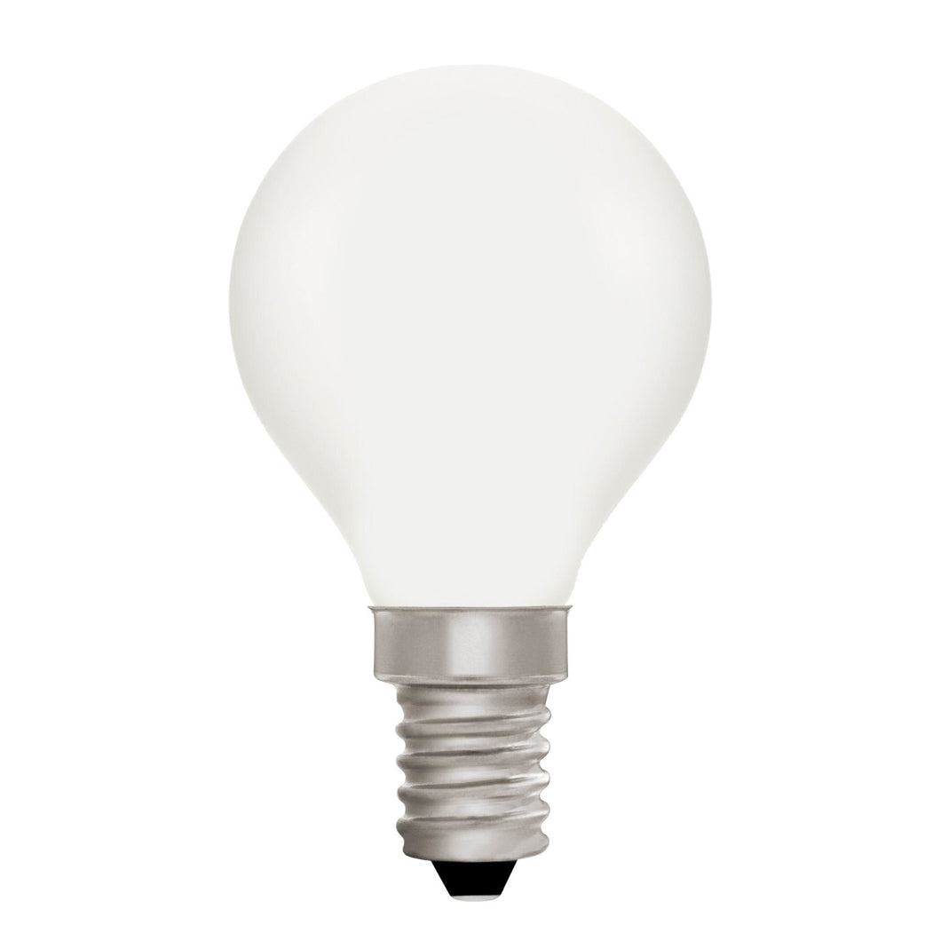 Golfball G45 Opal 4W E14 2700K - LED Lamp from RETROLIGHT. Made by Zico Lighting.