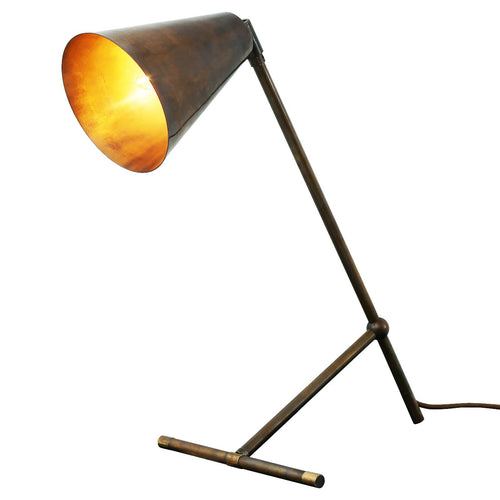 Havana Modern Industrial Table Lamp - Table Lamps from RETROLIGHT. Made by Mullan Lighting.