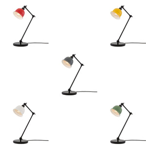 Nico Black Table Lamp - Table Lamps from RETROLIGHT. Made by Mullan Lighting.