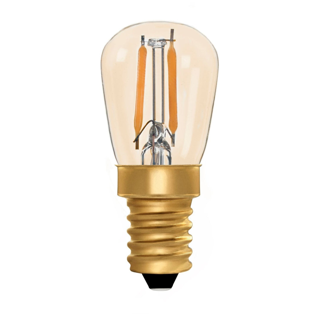 Pigmy ST26 Amber 1W E14 2200K - LED Lamp from RETROLIGHT. Made by Zico Lighting.