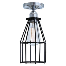 Load image into Gallery viewer, Raze Flush Cage Ceiling Light - Ceiling Lights from RETROLIGHT. Made by Mullan Lighting.
