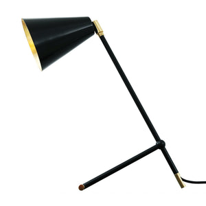 Santa Clara Modern Industrial Table Lamp - Table Lamps from RETROLIGHT. Made by Mullan Lighting.