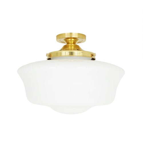Schoolhouse Ceiling Light - Ceiling Lights from RETROLIGHT. Made by Mullan Lighting.