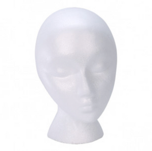 R|F Foam Wig Head Form