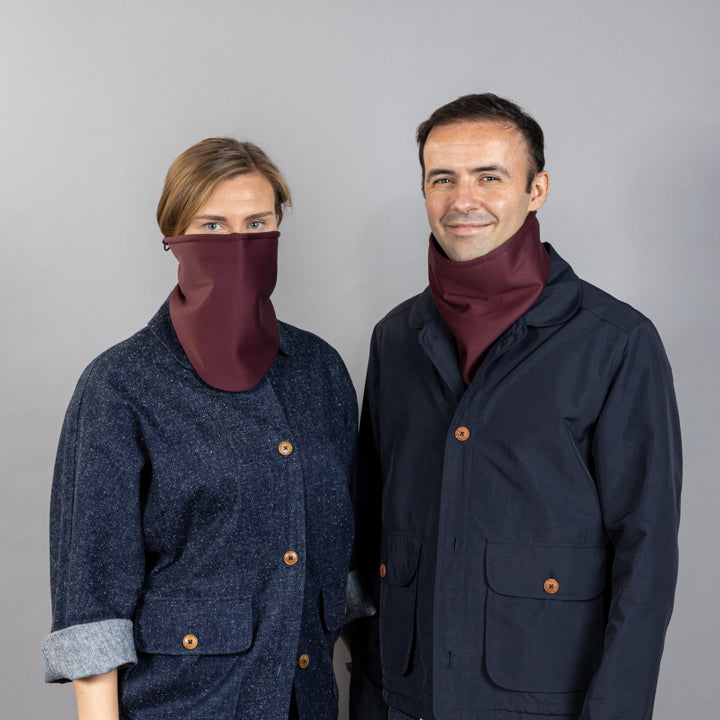 Collar Warm - Bordeaux