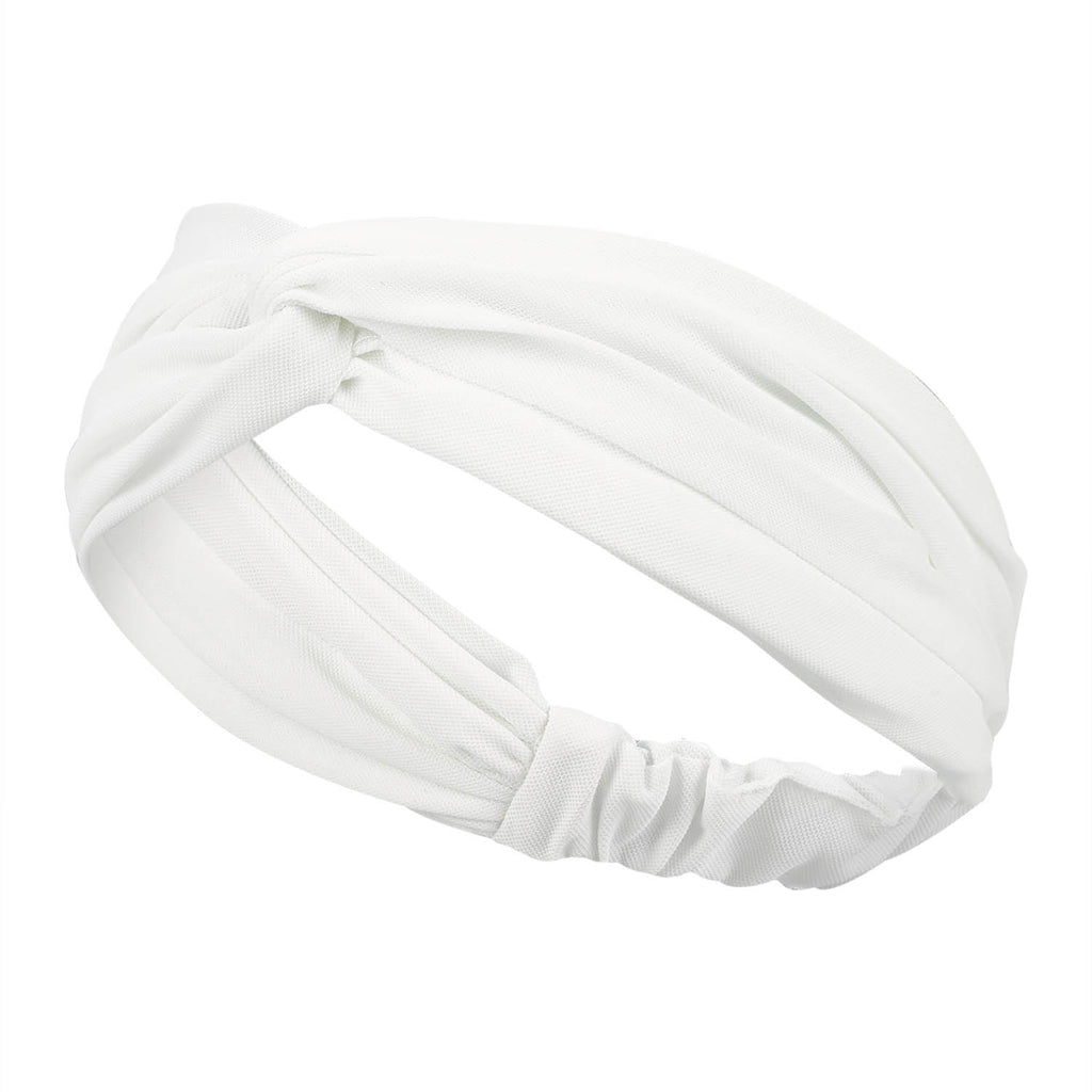 Hair Band - White