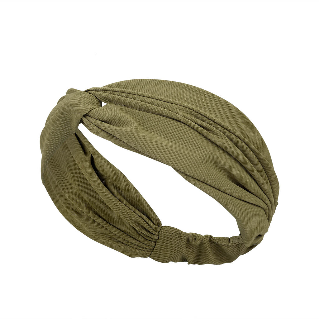 Hair Band  - Olive Green