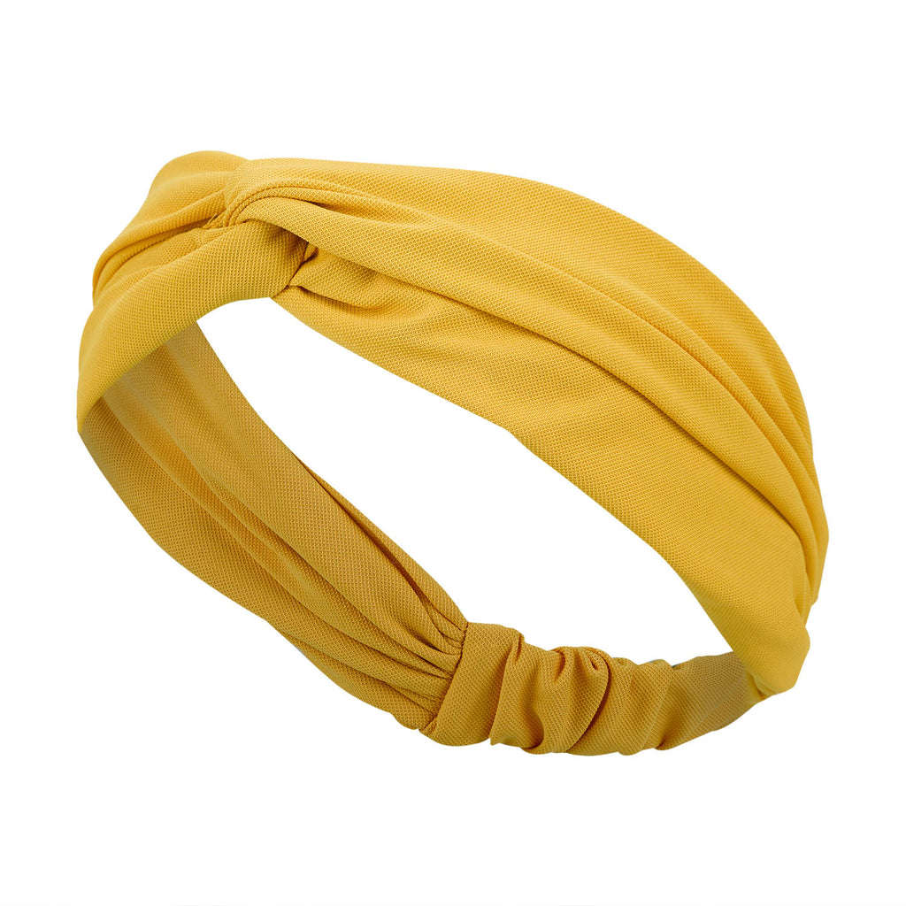 Hair Band -  Yellow Mustard