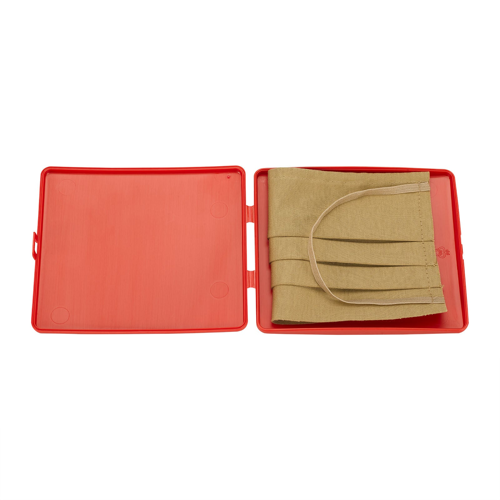 Foldable Mask Holder - Red
