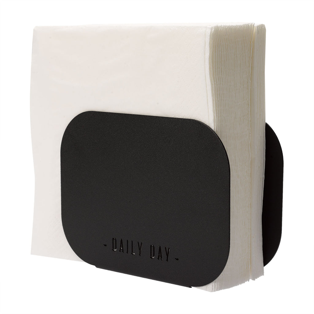 Napkin holder Um - Black