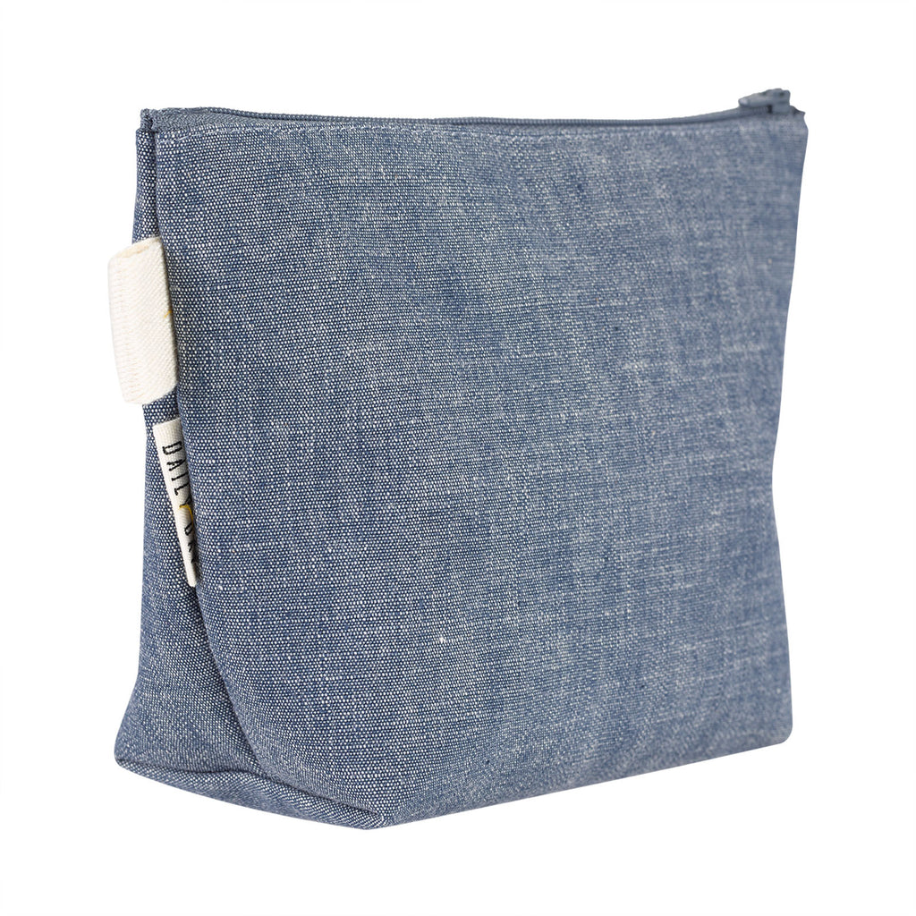 Necessaire Plaza - Denim Azul