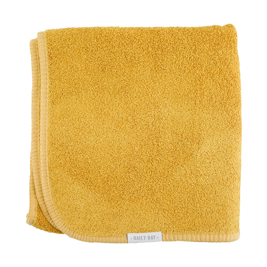 Bamb&Co Hand Towel  - Yellow Mustard