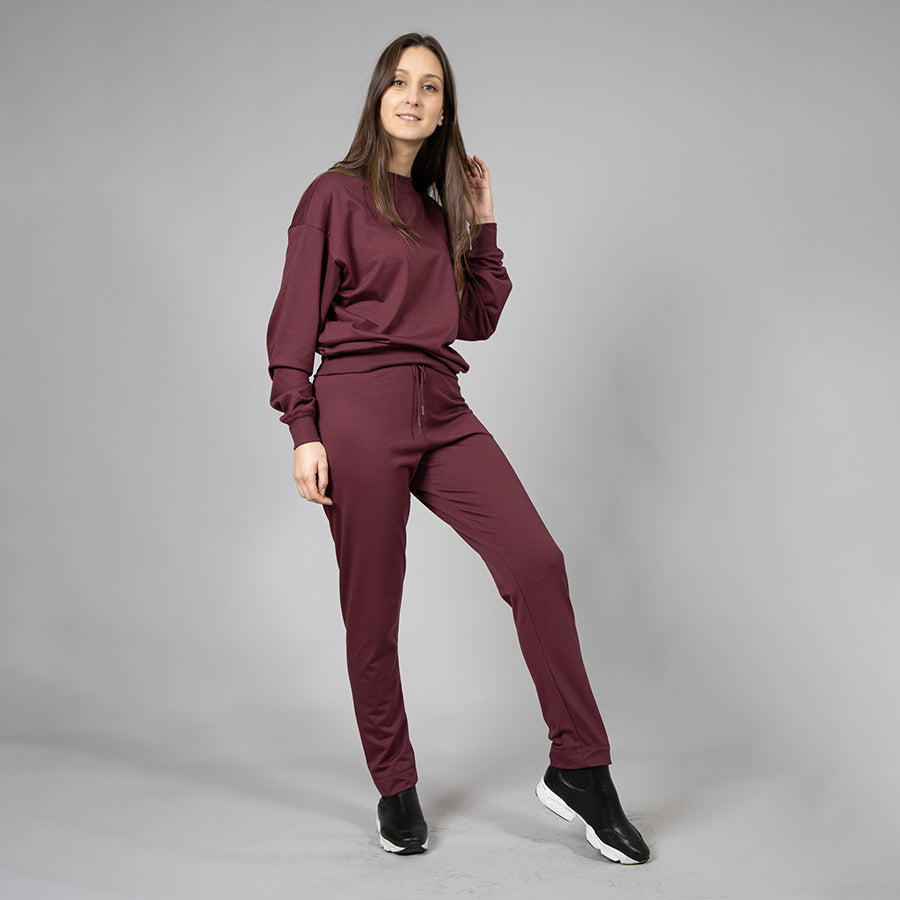 Leisure Pants - Bordeaux