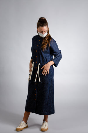 Vestido Debord Denim - Daily Day Studios