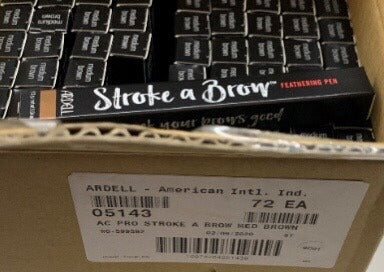 Ardell Beauty Stroke a Brow Feathering Pen, Medium Brown