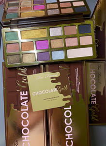 Too Faced Chocolate Gold Eyeshadow Palette x 48