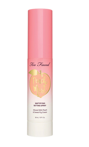 Too Faced Peach Mist Mattifying Setting Spray 1 oz