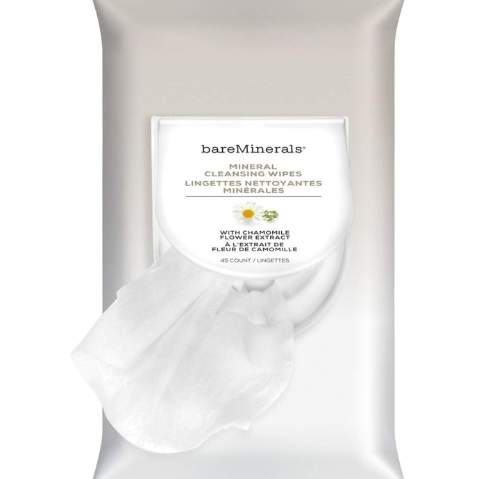 bareMinerals MINERAL CLEANSING WIPES 46 COUNT