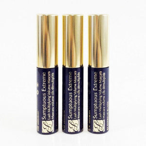Estee Lauder Sumptuous Extreme Lash Multiplying Volume Mascara #01 Extreme Black 2.8 ml Travel Size (pack of 3, 0.3 oz / 8.4 ml total) x90
