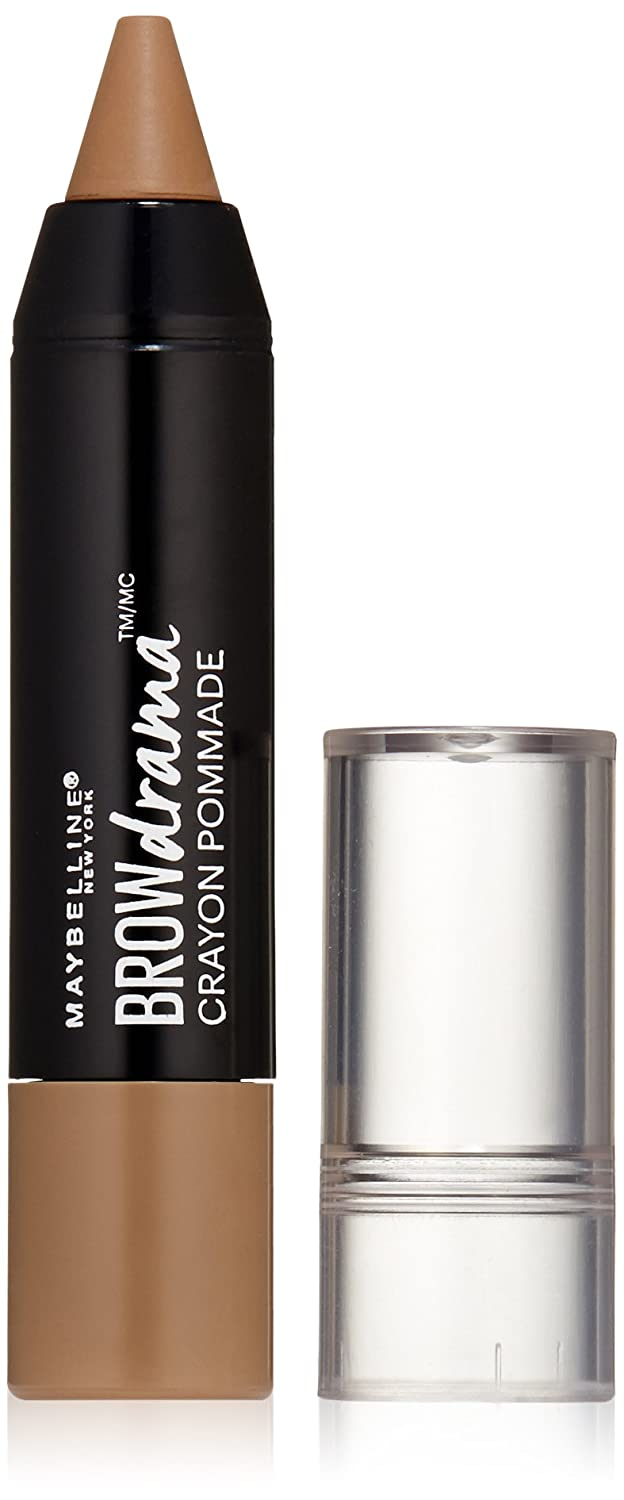 Maybelline New York Brow Drama Pomade Crayon, Blonde, 0.04 oz